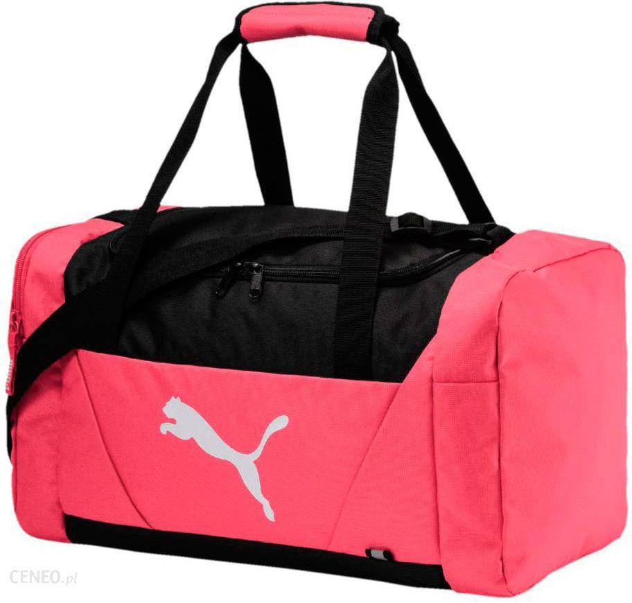 Torba Puma Fundamentals Sports Bag S II różowa 075096 03 - Ceny i ... 9356ac3406ba7