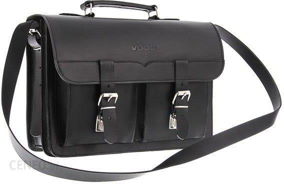 c5e52da36c5a4 VOOC Klasyczna teczka   plecak Vintage P12 BLACK - Ceny i opinie ...