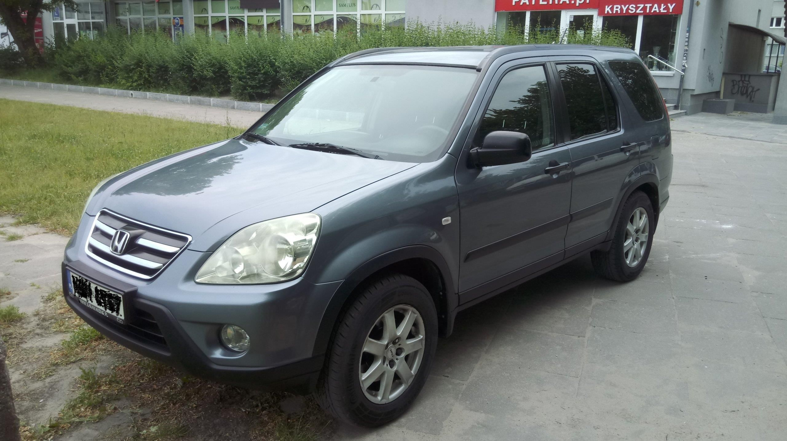 Honda Cr V Ii 2005 Diesel 140km Suv Szary Opinie I Ceny Na Ceneopl