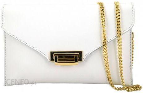 f237bfefe0c8b Barberini s - torebki damskie wizytowe - kopertówki - Biały - Ceny i ...