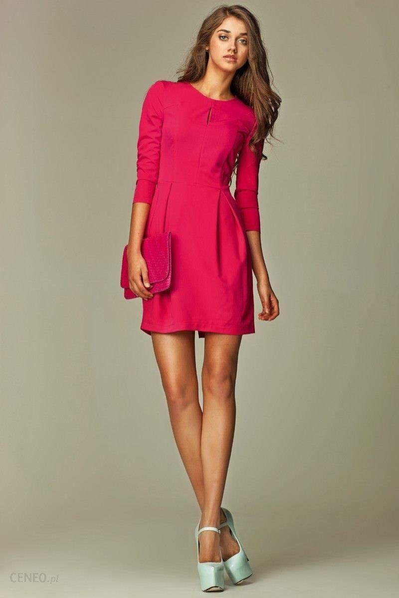 5d50f6f5a2 Nife Sukienka Model S32 Pink - Ceny i opinie - Ceneo.pl
