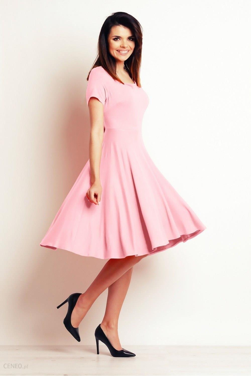 967e8a3ada Infinite You Sukienka Model M101 Powder Pink - Ceny i opinie - Ceneo.pl