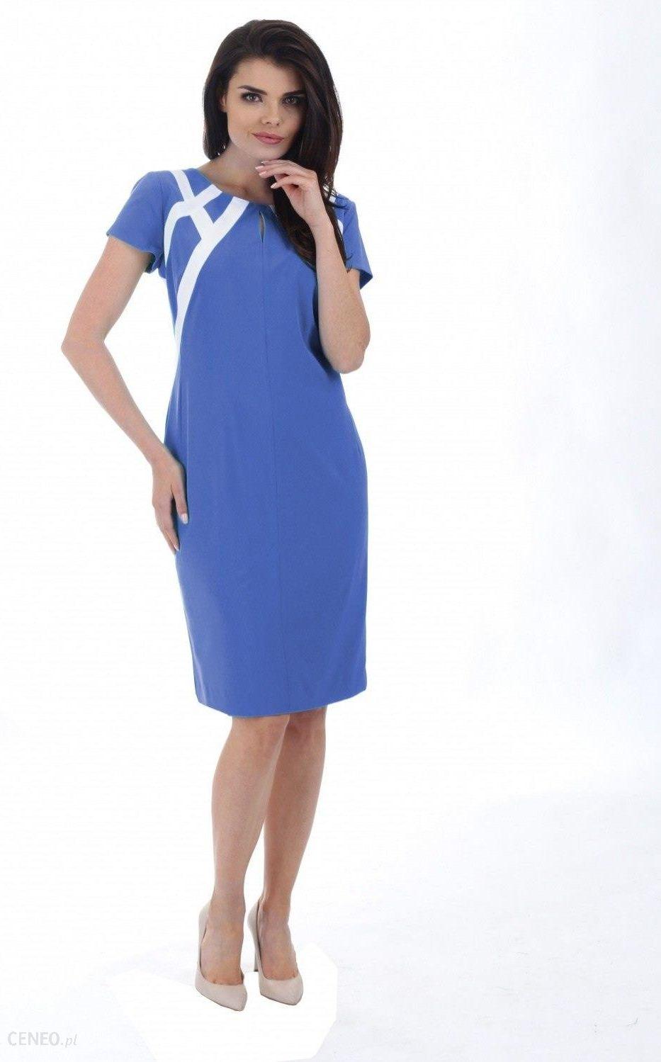 79152f5b6b Margo Collection Sukienka dzienna model M 226 blue - Ceny i opinie ...