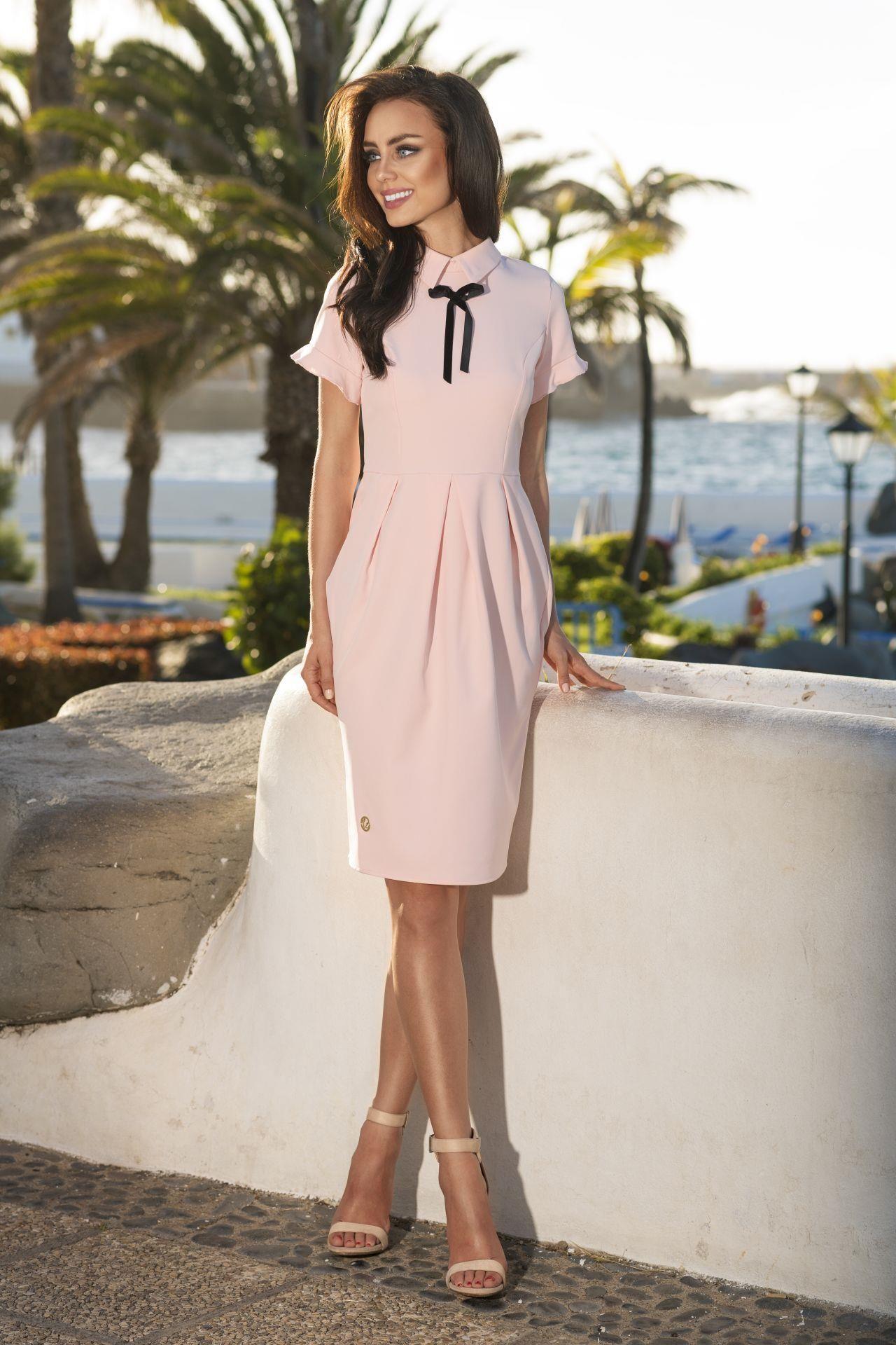 bf27b4fd46 Lemoniade Modna elegancka sukienka L234 - Ceny i opinie - Ceneo.pl