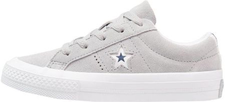 555d4027616c6 Converse ONE STAR OX NAVY/WHITE/BRIGHT POPPY YOUTH Tenisówki i Trampki wolf  grey Zalando