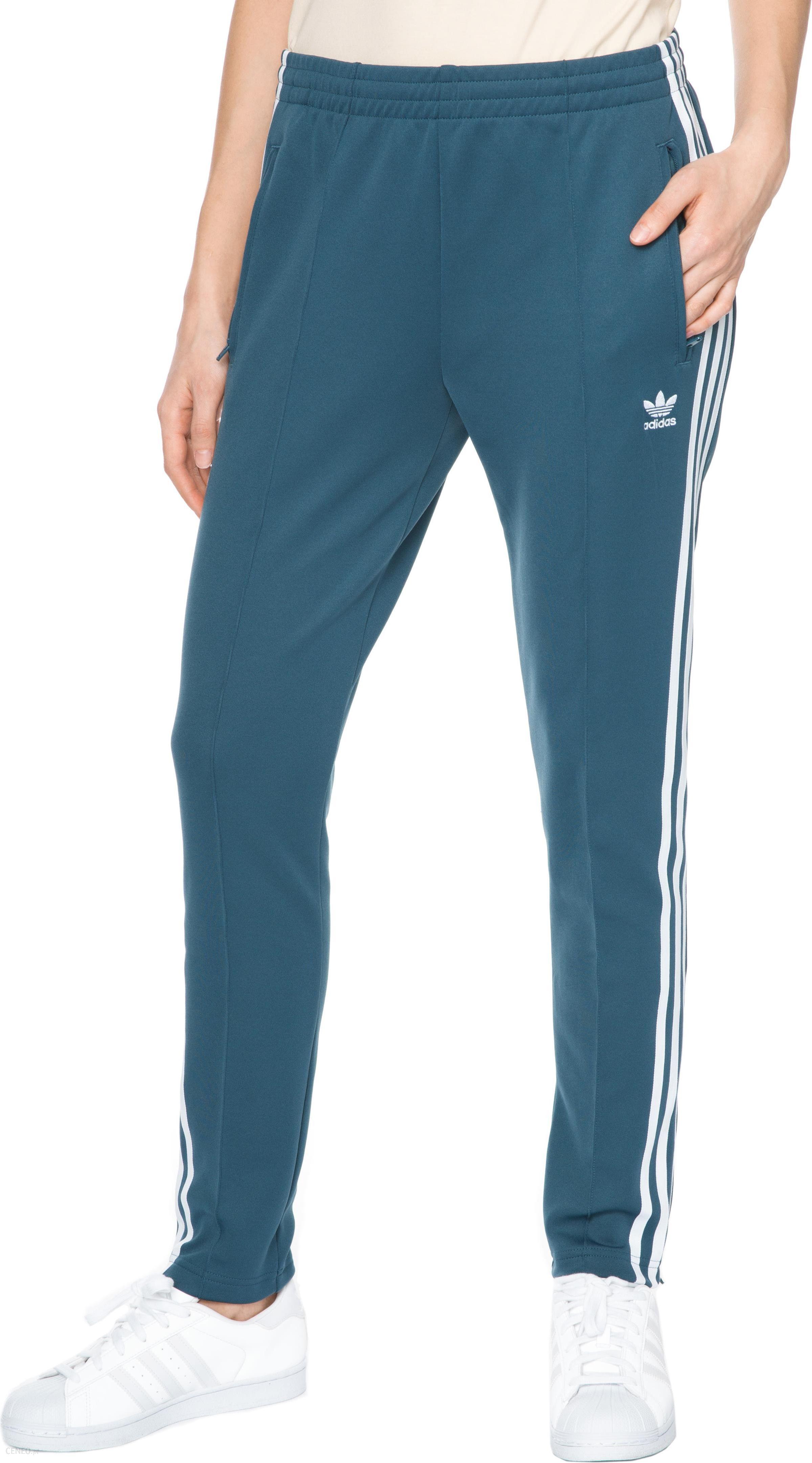 męskie niebieski spodnie dresowe adidas originals