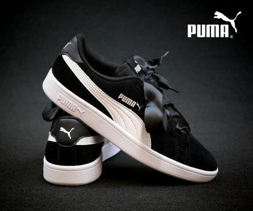 Puma Smash V2 Ribbon Jr 366003 01