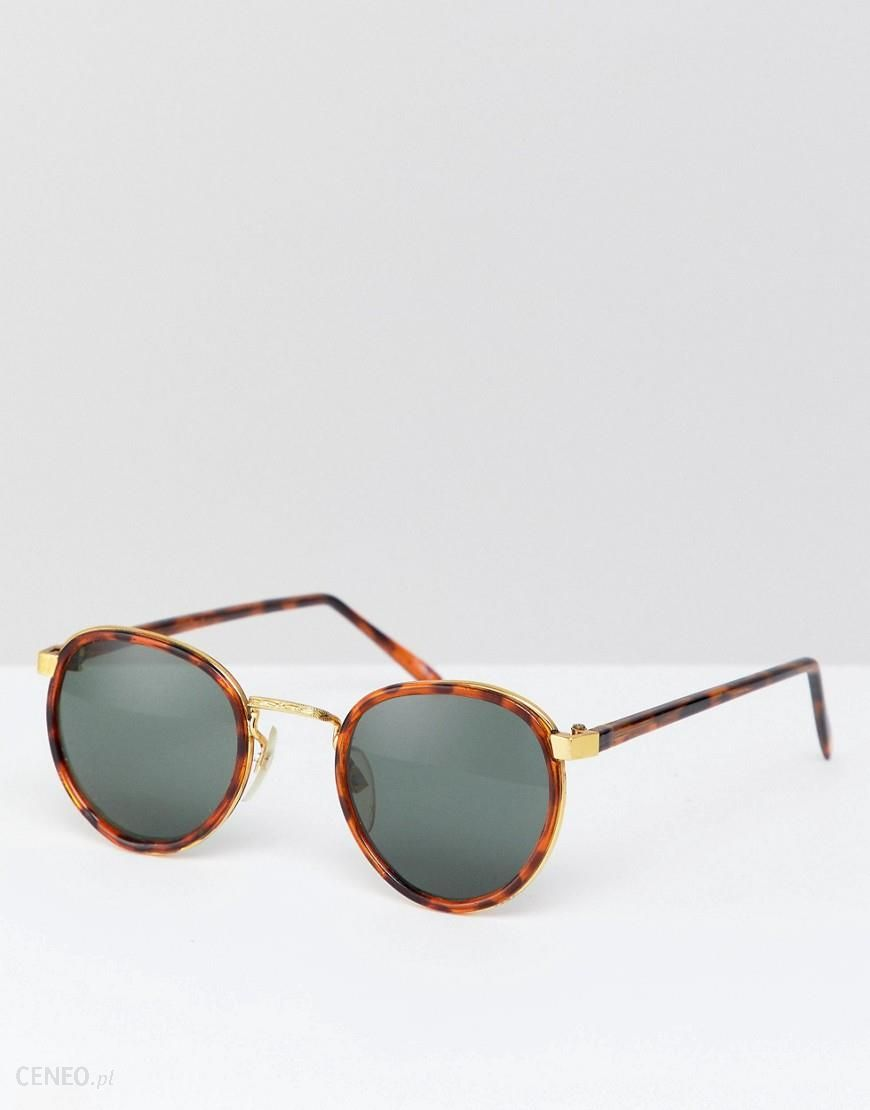 9e48708e05 Reclaimed Vintage Inspired Round Clear Lens Glasses In Tort Exclusive To  ASOS - Brown - zdjęcie