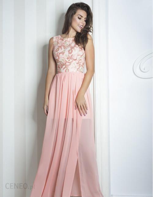 f4ce556f72 Monnom boutique Sukienka Sharon II maxi różowa - Ceny i opinie ...