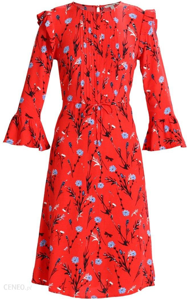 4dee162030 TOM TAILOR DENIM FLORAL PRINTED DRESS Sukienka letnia red - Ceny i ...