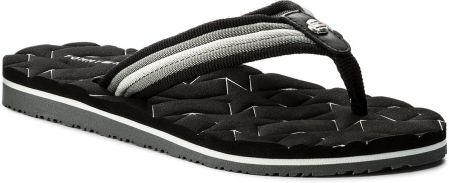 8c61785fce105 Japonki TOMMY HILFIGER - Comfort Low Beach Sandal FW0FW02368 Black 990  eobuwie