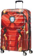1ef7999f87665e American Tourister Wavebreaker Disney Marvel Iron Man Close-Up duża walizka  - Iron Man Close