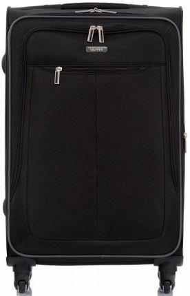 df842406842bc Wittchen Kabinowa miękka czarna walizka 56-3-480-1 - Ceny i opinie ...