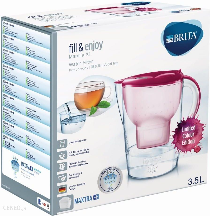 6826b27c4297ee ... Dzbanek filtrujący BRITA fill&enjoy Marella XL różowy - zdjęcie ...