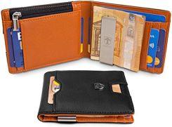 fa3f6b66a881c Amazon travando® portfel z zabezpieczeniem klamra do pieniędzy
