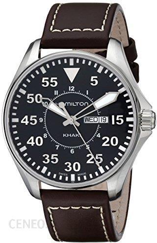 Wszystkie nowe Amazon Hamilton Khaki pilot 42 MM dla mężczyzn bransoletka zegarek XF49