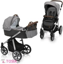 Baby Design Dotty 07 Gray Głęboko Spacerowy