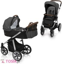 Baby Design Dotty 10 Black Głęboko Spacerowy