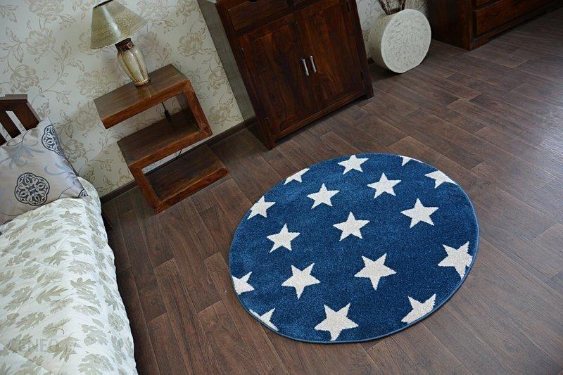 Dywany łuszczów Sketch Koło 140cm Gwiazdy Gr2488