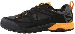 Salomon X ALP SPRY GTX Półbuty trekkingowe black magnetbright marigold