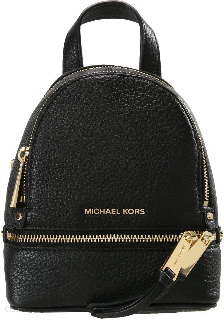 f580e676878c1 Plecak Michael Michael Kors Rhea Zip Backpack Black - Ceny i opinie ...