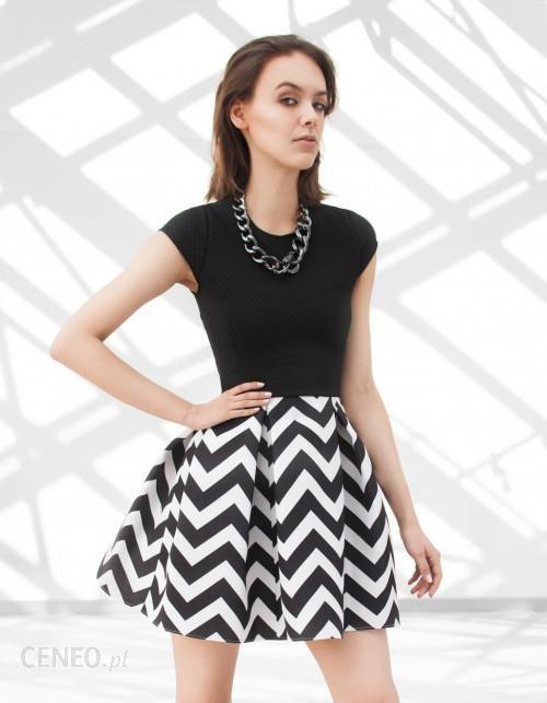 850fa27f1d Monnom boutique Sukienka rozkloszowana - Ceny i opinie - Ceneo.pl