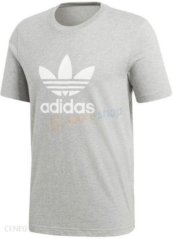b3fbe5615c9f7 Koszulka męska Trefoil Adidas Originals (szara) - Ceny i opinie ...