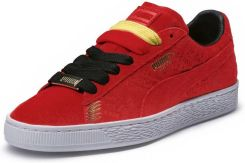 puma clyde bordowe