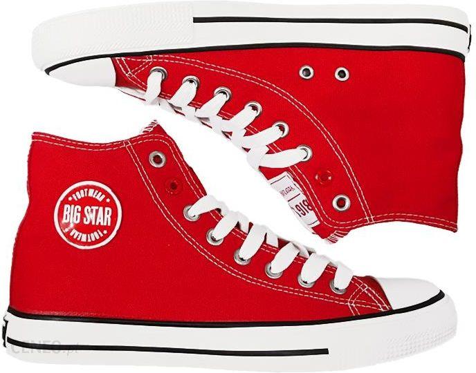 Big Star trampki męskie buty czerwone T174104 44