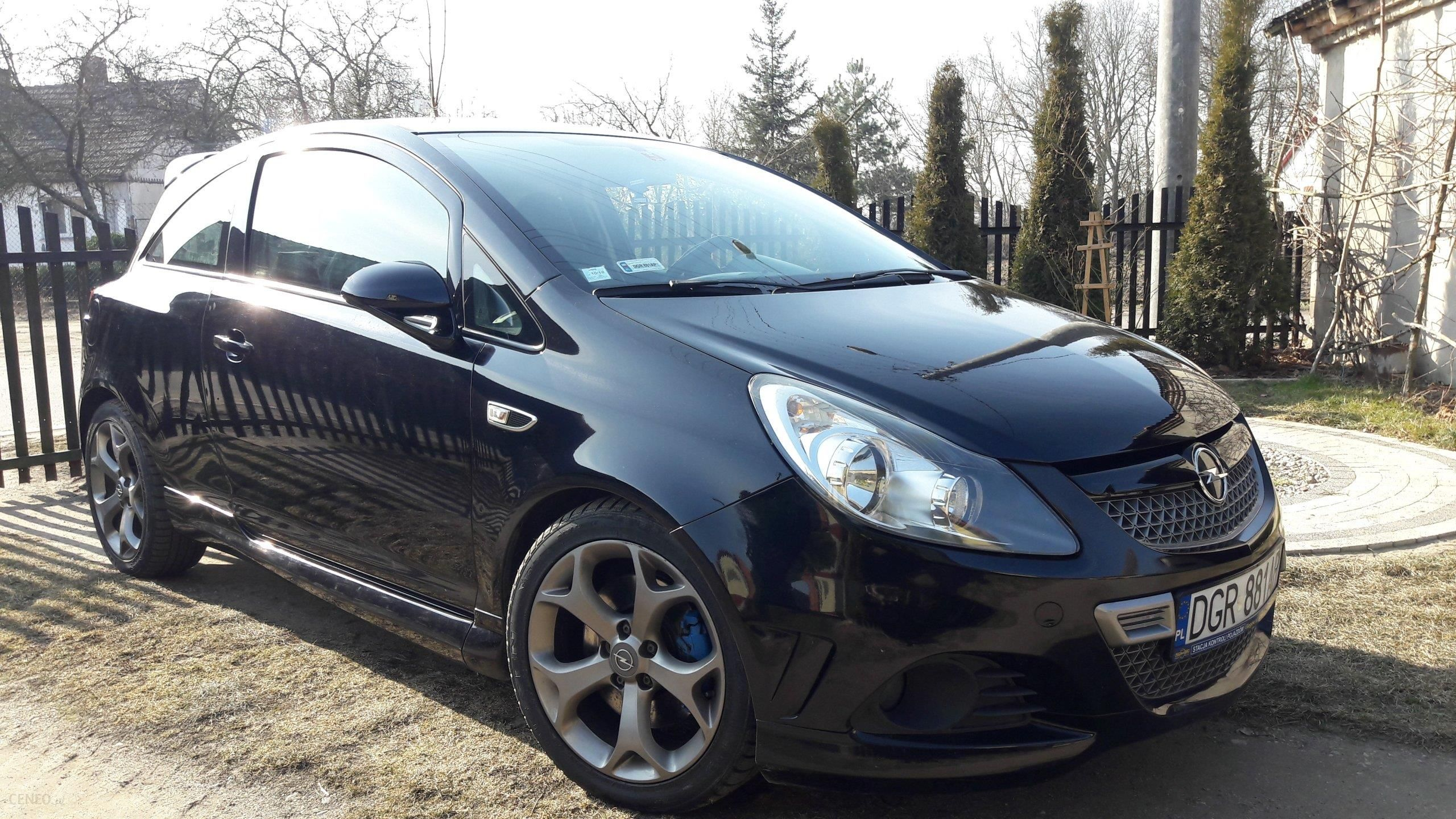 opel corsa d 2008 193km czarny opinie i ceny na. Black Bedroom Furniture Sets. Home Design Ideas