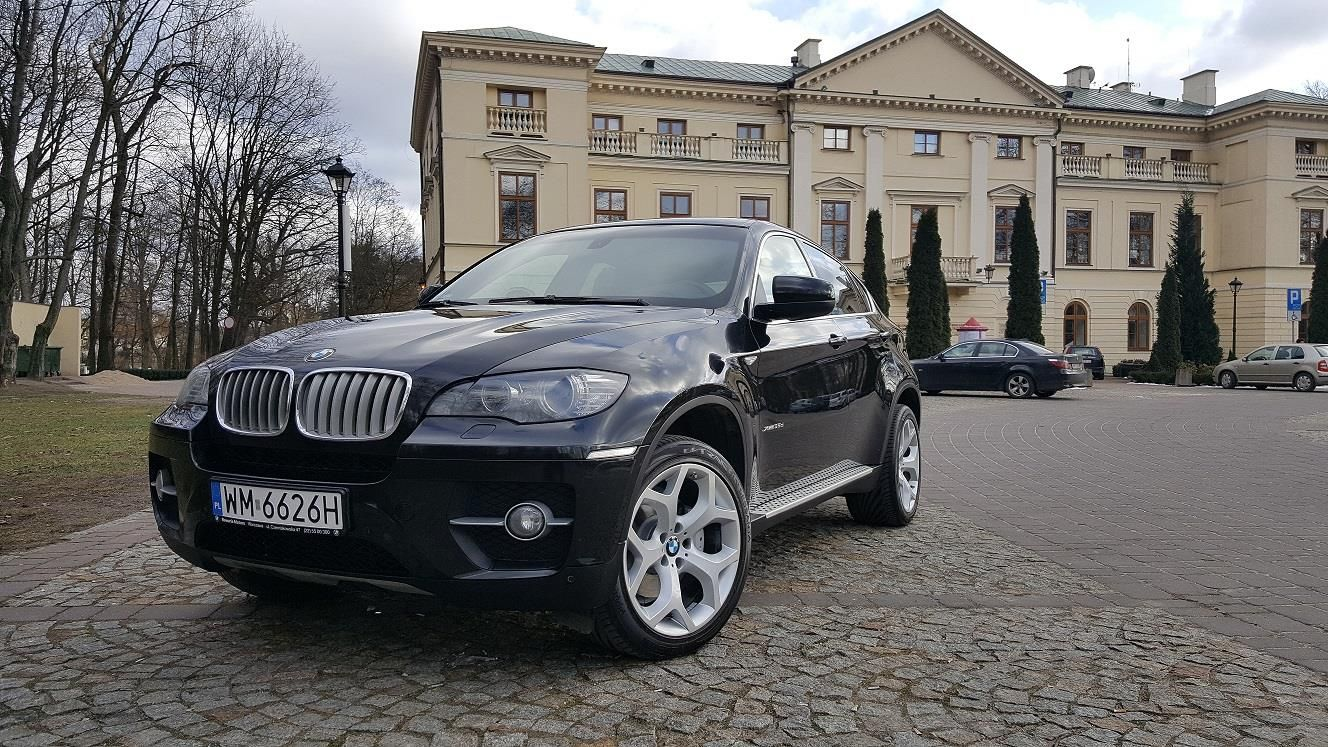 BMW X6 E71 2010 diesel 286KM hatchback czarny - Opinie i ceny na Ceneo.pl