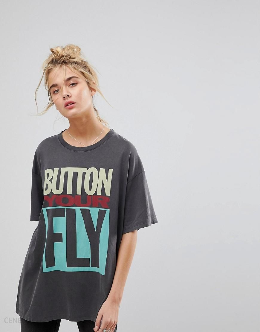 Levi's Button Your Fly Graphic T Shirt Navy Ceneo.pl