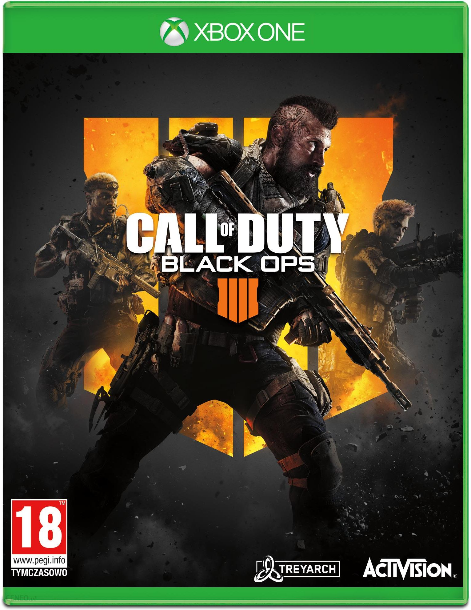 Call Of Duty Black Ops 4 Gra Xbox One Od 74 90 Zl Ceny I Opinie Ceneo Pl