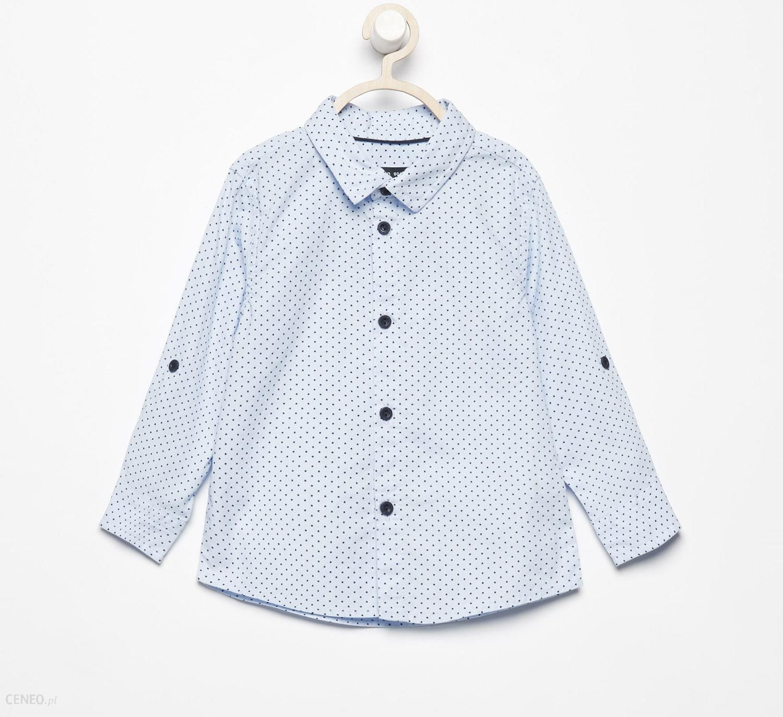 8d8c400b2743e6 Reserved - Bawełniana koszula w gwiazdki - Niebieski - Ceny i opinie ...