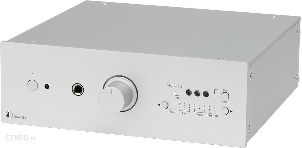 Pro-Ject MaiA DS2 zintegrowany stereo Srebrny