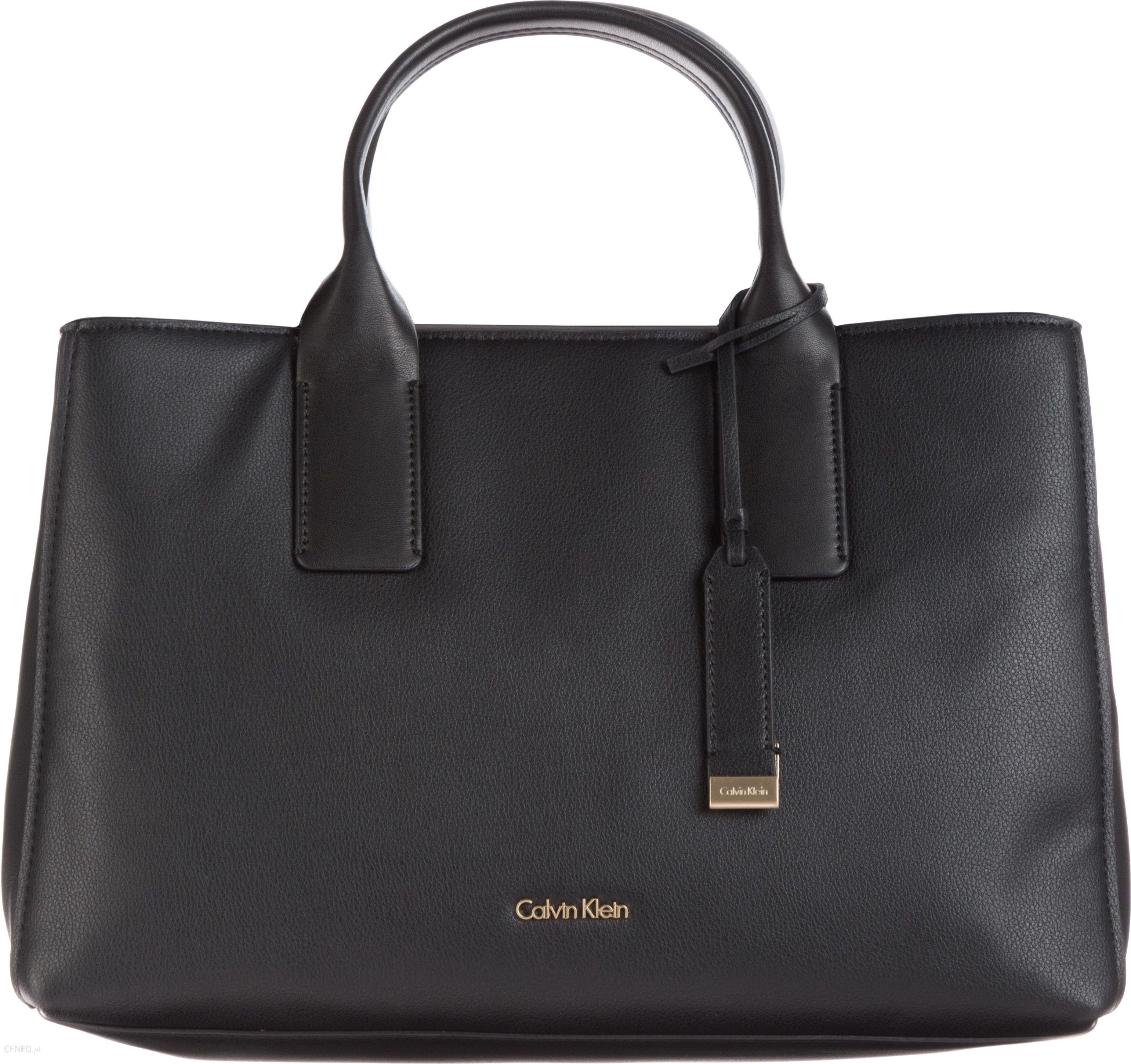 Calvin Klein Downtown Handbag Czarny UNI Ceny i opinie Ceneo.pl