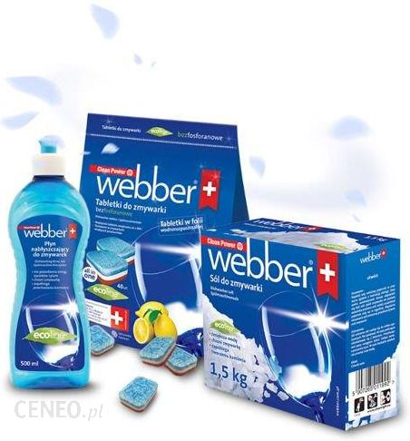 5538291643584b Webber Zestaw Do Zmywarki Sól Tabletki Nabłyszczacz Pdo - Opinie i ...