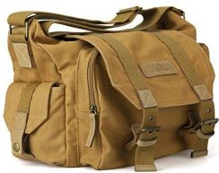 44b803821f77 Amazon caden Canvas torba na aparat Sling wzmocnione paski na ramię Insert  Messenger Bag f ¨