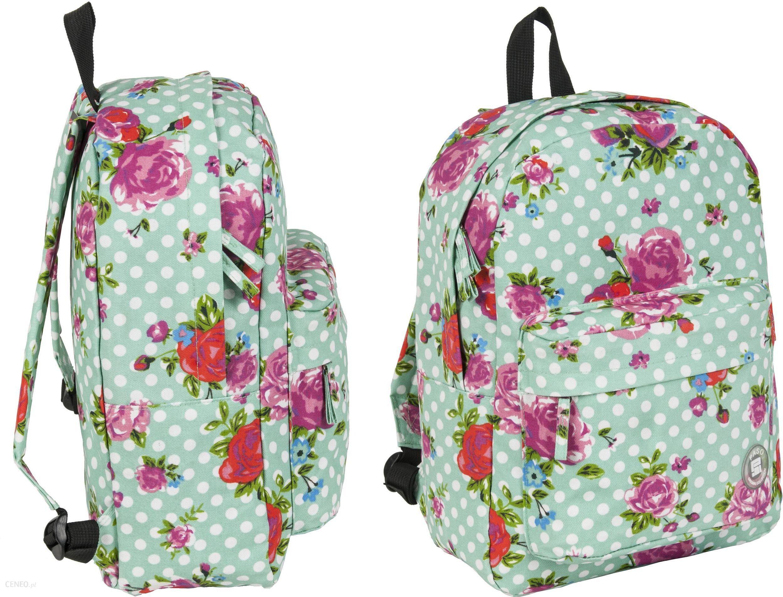 2f650f0f859bb Paso Plecak Vintage W Kwiaty Róże - Ceny i opinie - Ceneo.pl