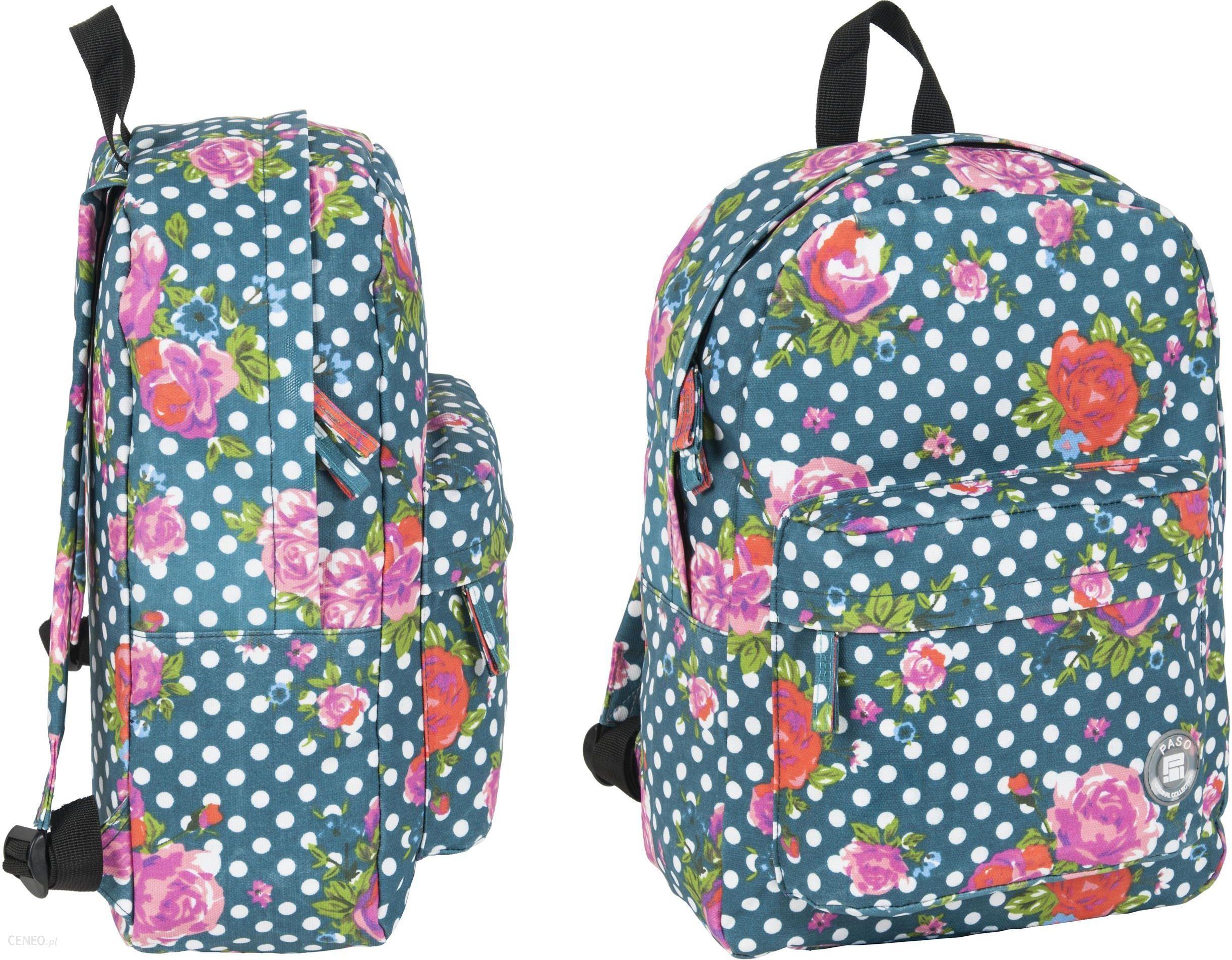 d2702922f189c Paso Plecak Vintage W Kwiaty Róże - Ceny i opinie - Ceneo.pl