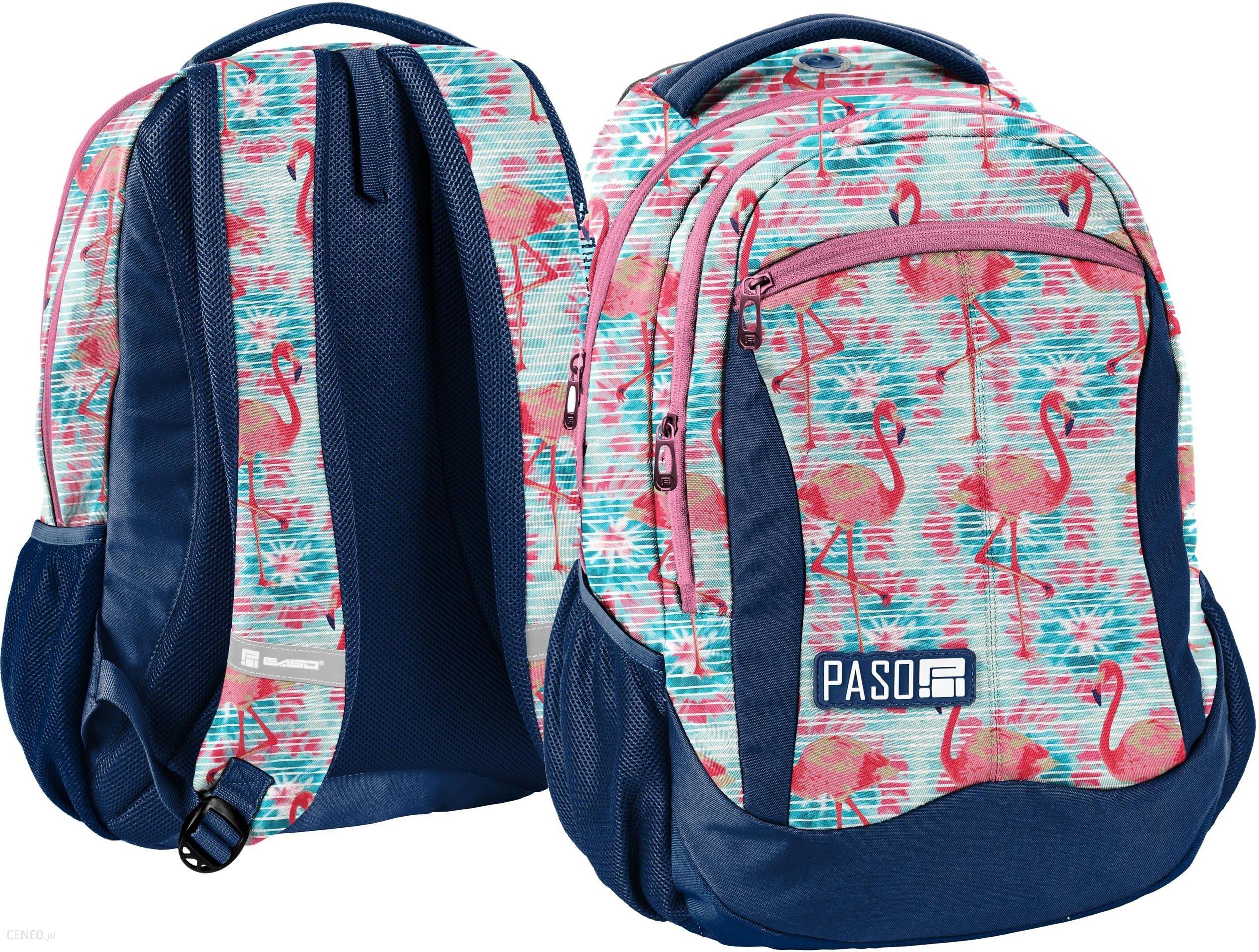 271a560b31b86 Paso Plecak Młodzieżowy Flamingi Unique - Ceny i opinie - Ceneo.pl