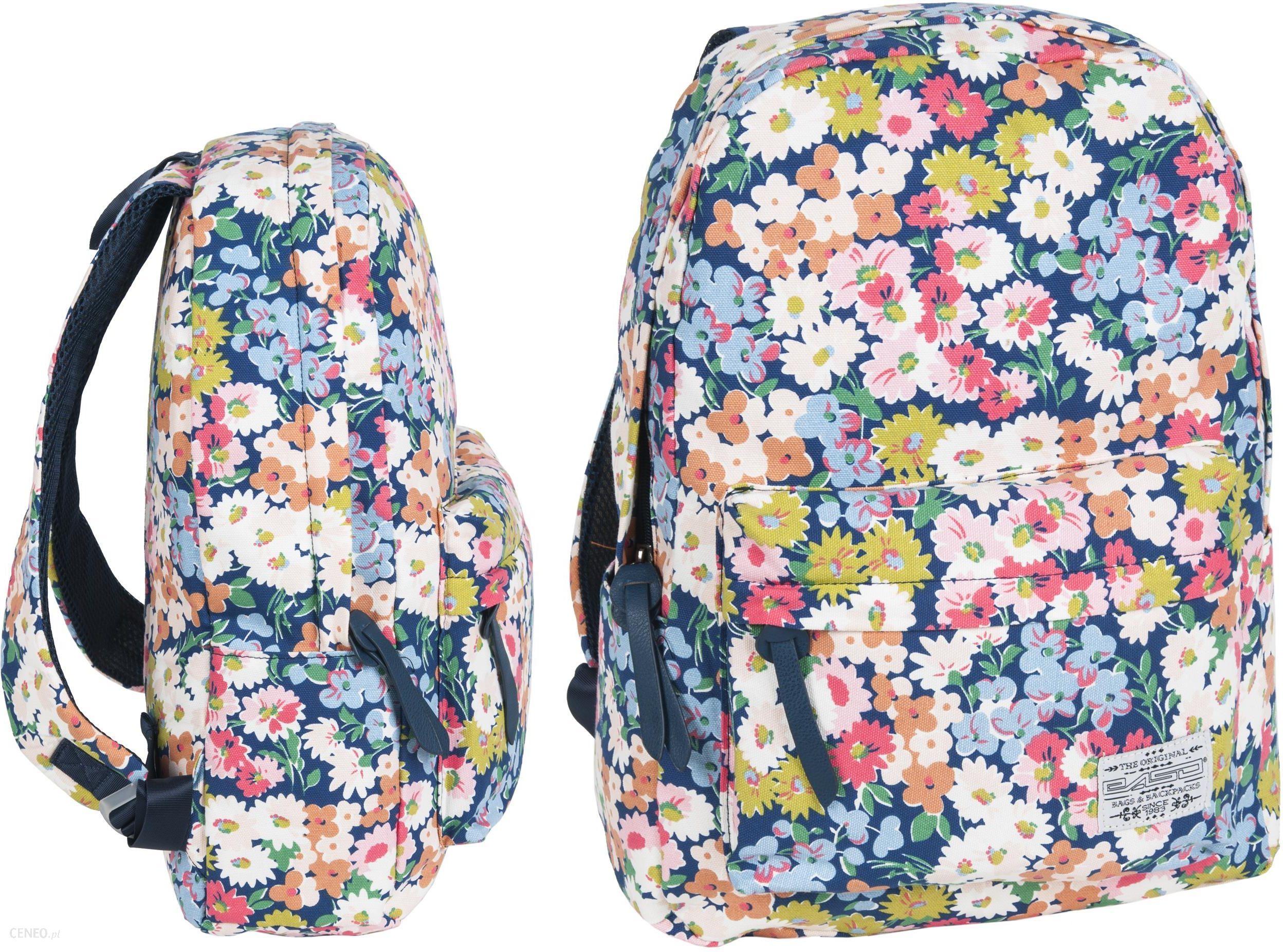 5e3522dcd093c Paso Plecak Vintage W Kwiaty Retro - Ceny i opinie - Ceneo.pl