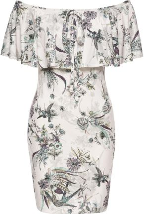 1b814faa PtakModa - Sukienka koktajlowa taliowana