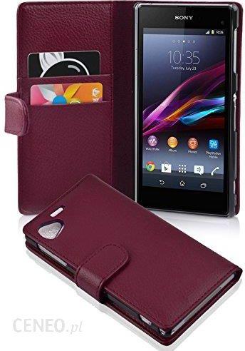 best website e94c0 28ba2 Amazon cador Abo – Book Style etui do Sony Xperia Z1 – Case Cover etui  ochronne na telefon komórkowy z kieszenią na karty, Sony Xperia Z1 ...