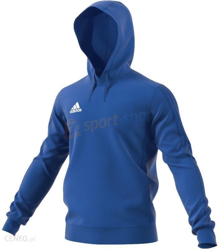 Bluza męska z kapturem Tiro 17 Hoody Adidas (niebieska)