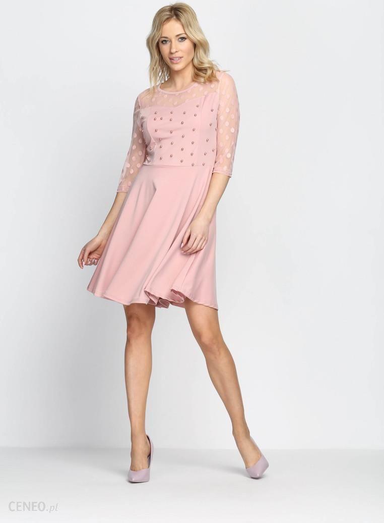 d8ecf57c4d753 Różowa Sukienka Love Dance - Ceny i opinie - Ceneo.pl