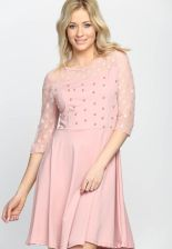 8f9e3124ab Różowa Sukienka Love Dance