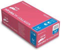 c8dd3179a66486 Mercator Medical Rękawice Nitrylex® Pf Collagen Niejałowe Bezpudrowe M 100  szt