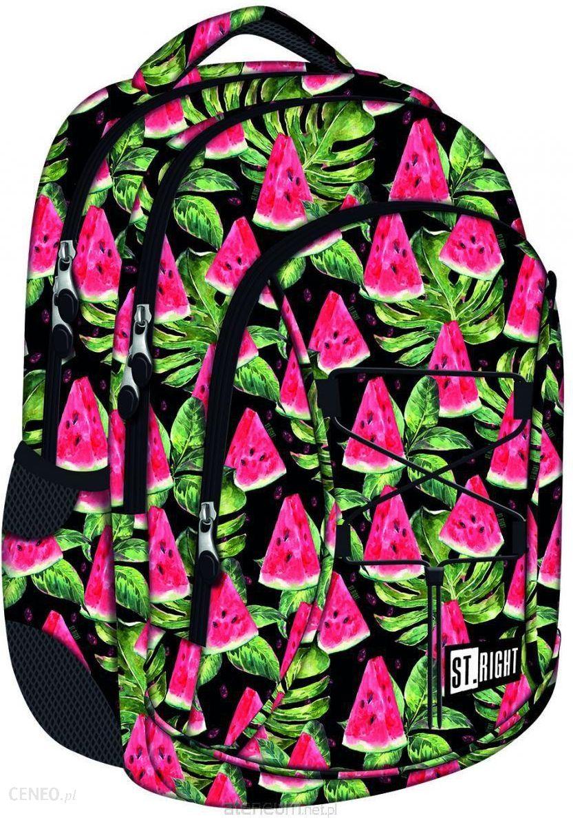 9f6837fe6919b St.Majewski Plecak 3-Komorowy Watermelon - Ceny i opinie - Ceneo.pl