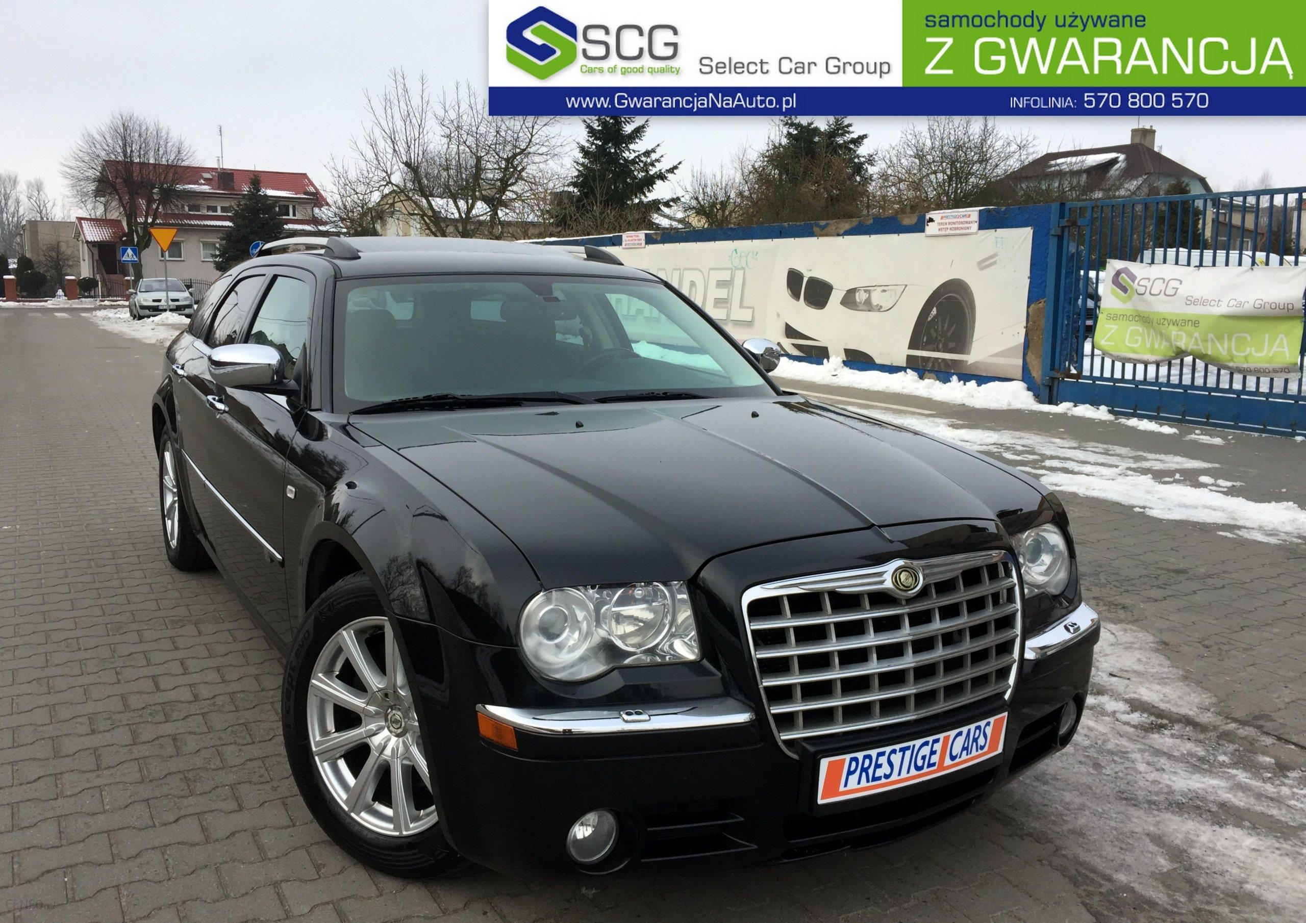 chrysler 300c 2009 diesel 218km kombi czarny opinie i. Black Bedroom Furniture Sets. Home Design Ideas